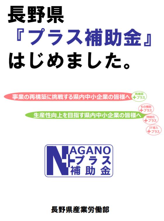長野県プラス補助金